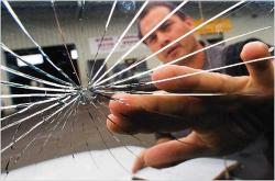 Got cracked auto glass?